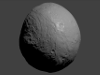 Asteroid Vesta (West)