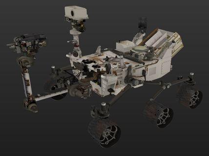 Curiosity (Dirty) | 3D Resources