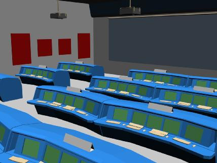 control room 3d model free download