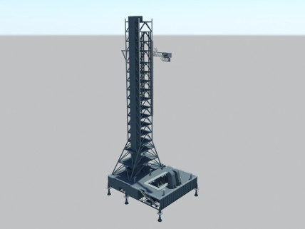 Mobile Launcher - High Poly