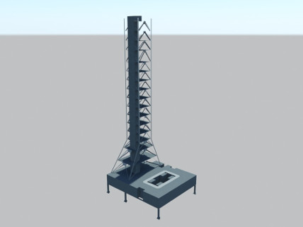 Mobile Launcher - Low Poly