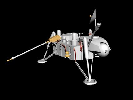 model of viking space probe - photo #14